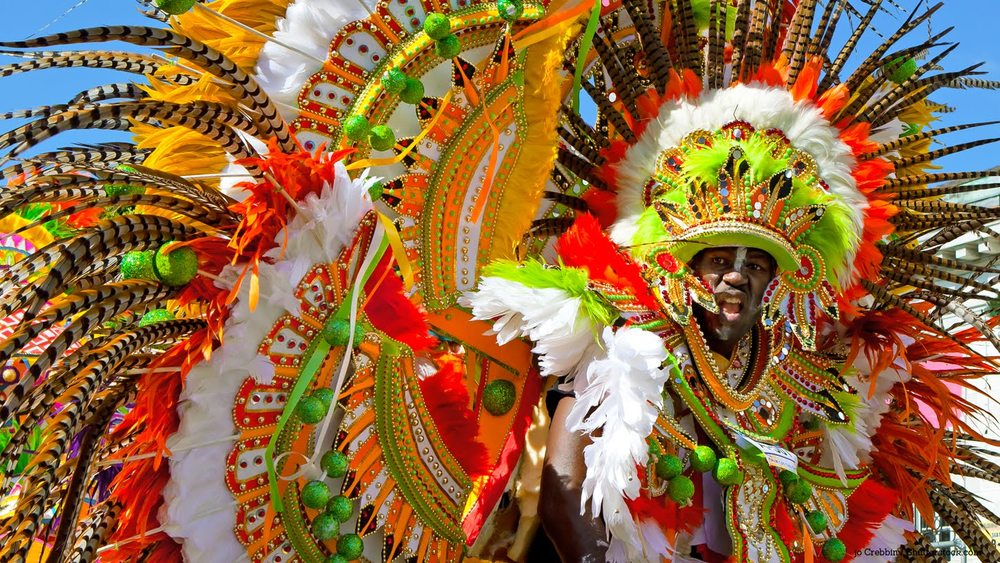 The first Junkanoo celebration in the Bahamas falls on the day after Christmas
