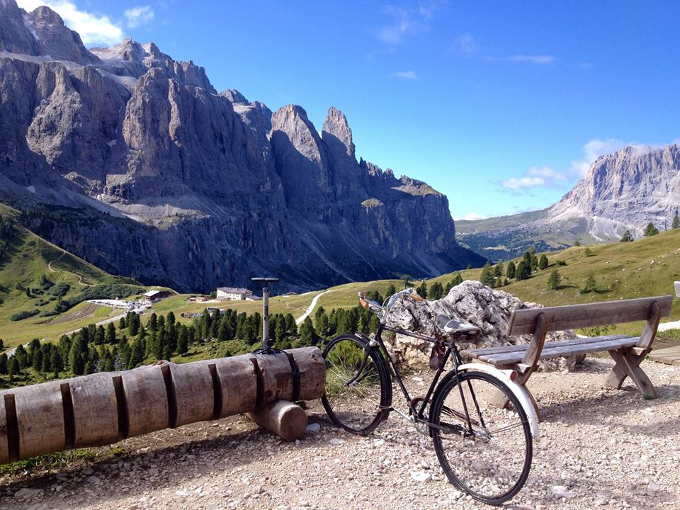 Hiking and biking the Dolomites along the Italian and Austrian border
