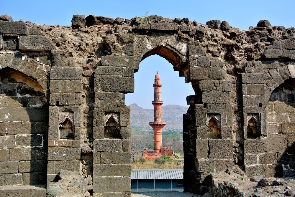 The ruins of Daulatabad, India