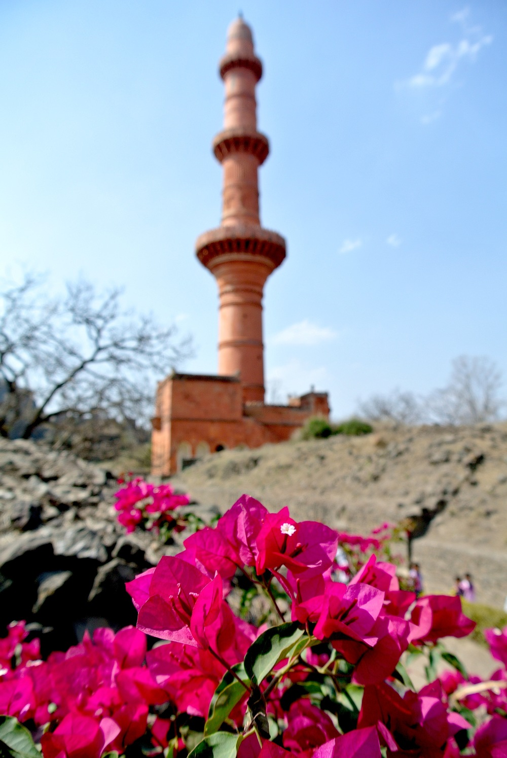 The Moon Tower at Daulatabad, the second tallest tower in India