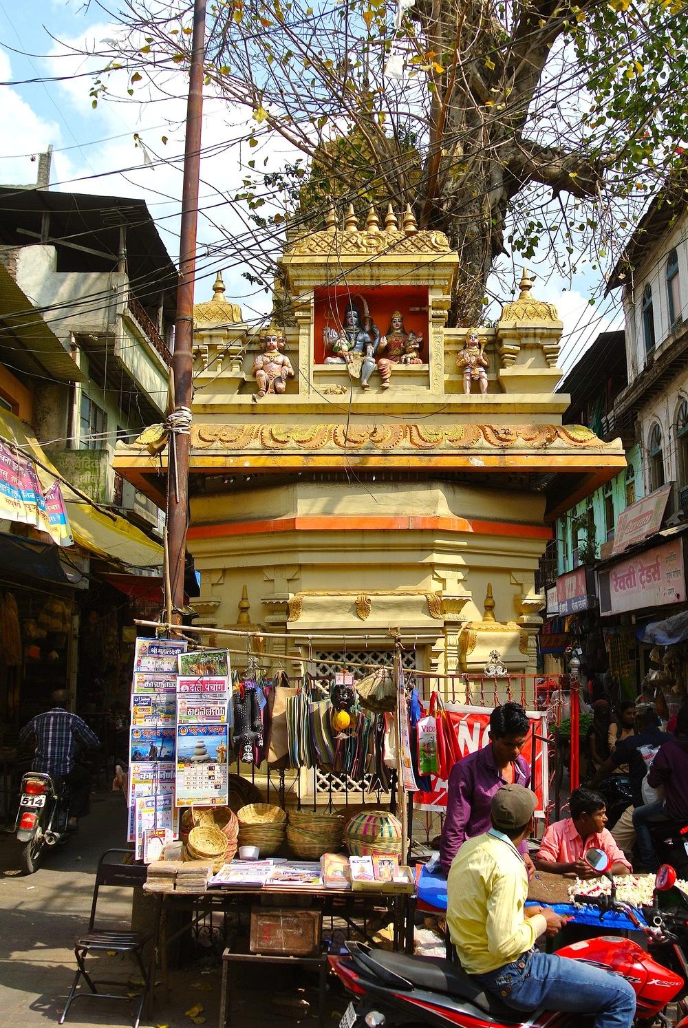 The Supari Hanuman Temple on Gulmandi Road in Aurangabad, India