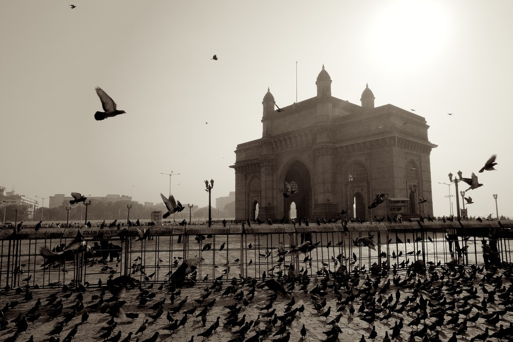 The Gateway to India in the Colaba neighborhood of Mumbai