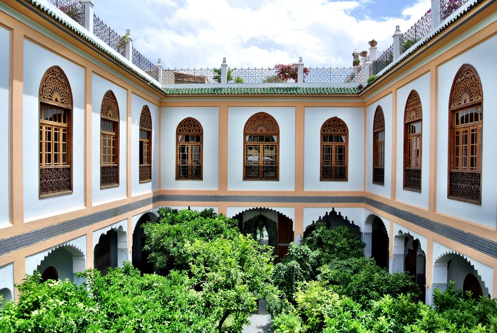 If you don't stay at the Palais Amani in Fès, be sure to at least stop by to experience their marvelous hamman, courtyard and roof terrace