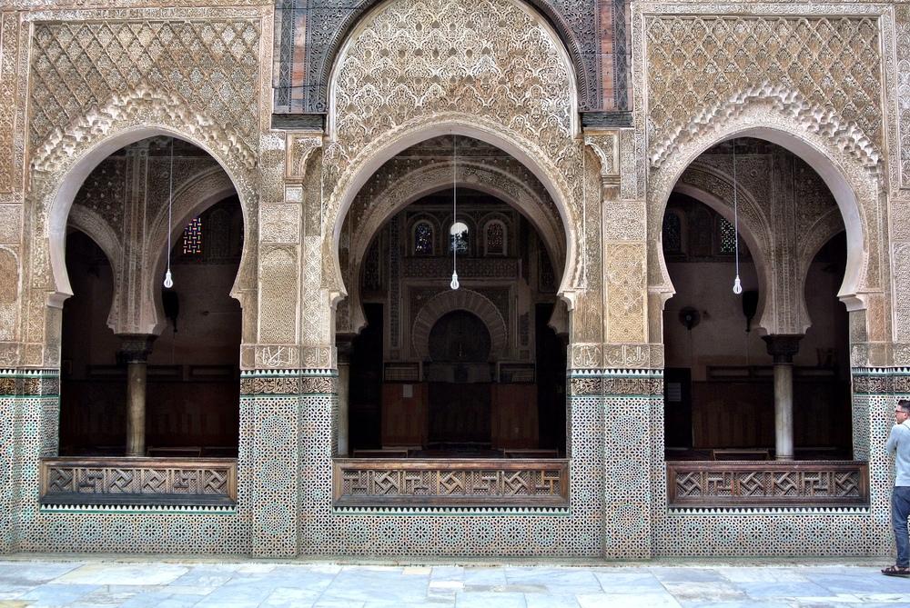 The medersa prayer hall