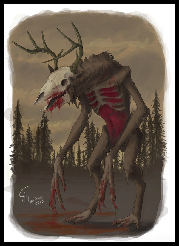 The wendigo is what becomes of those depraved enough to resort to cannibalism