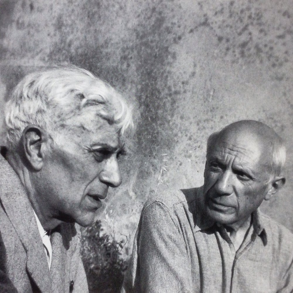 Georges Braque and Pablo Picasso are credited with creating Cubism
