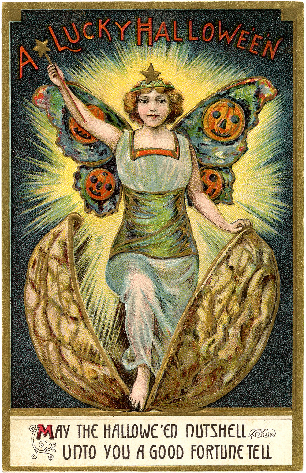 Halloween has its dark side — but it can also be a time of good luck