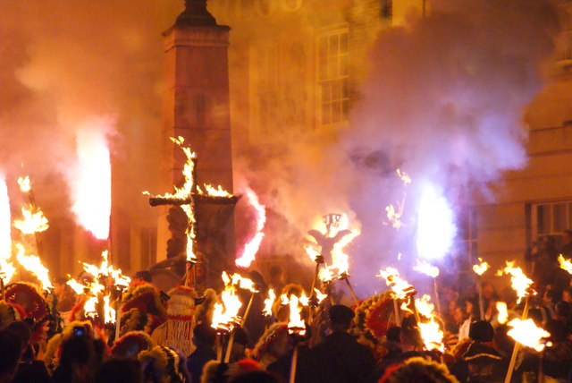 Bonfire Night can be a bit scary — a time when Brits burn effigies and, apparently, even crosses