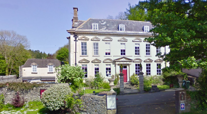 The Bowlish House in the village of Shepton Mallet is a beautiful inn and wedding venue