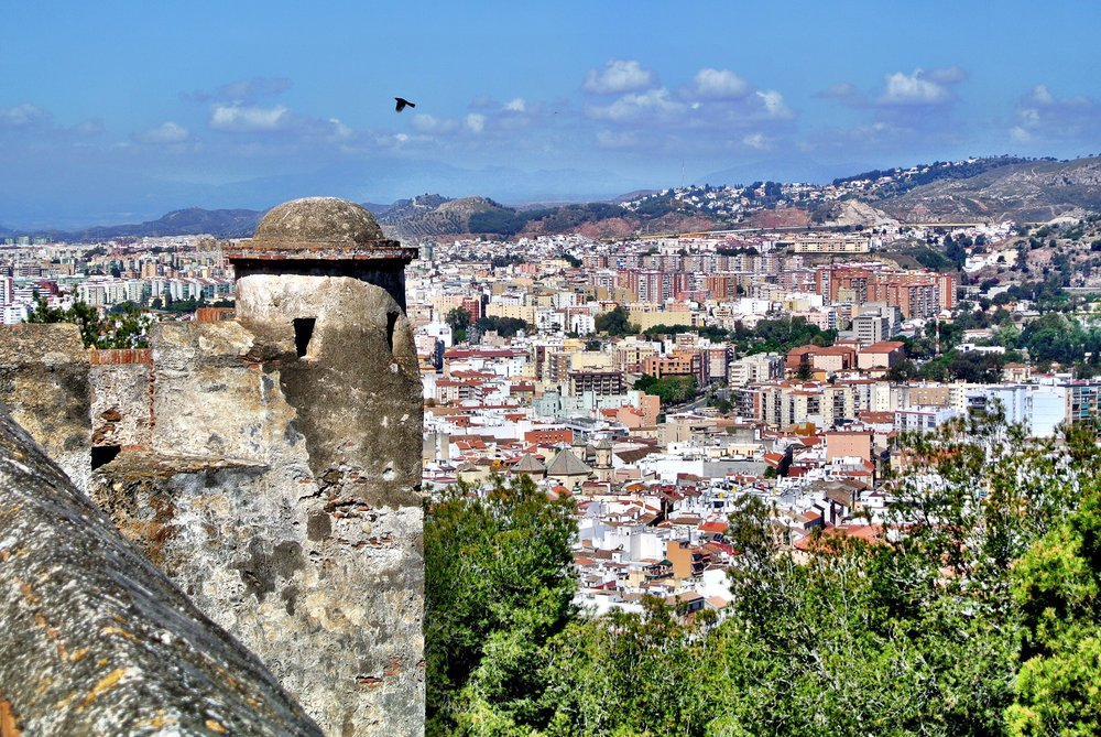 Be sure to walk the ramparts of the Gibralfaro, the Moorish fortress that looms above Málaga, Spain