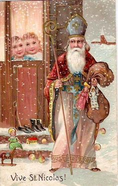 St. Nicholas came into money at a young age, and was always very generous with it