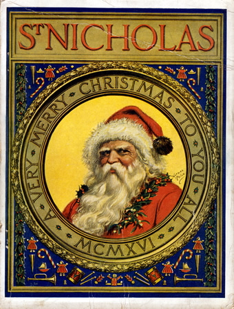 Eventually Saint Nicholas morphed into Santa Claus