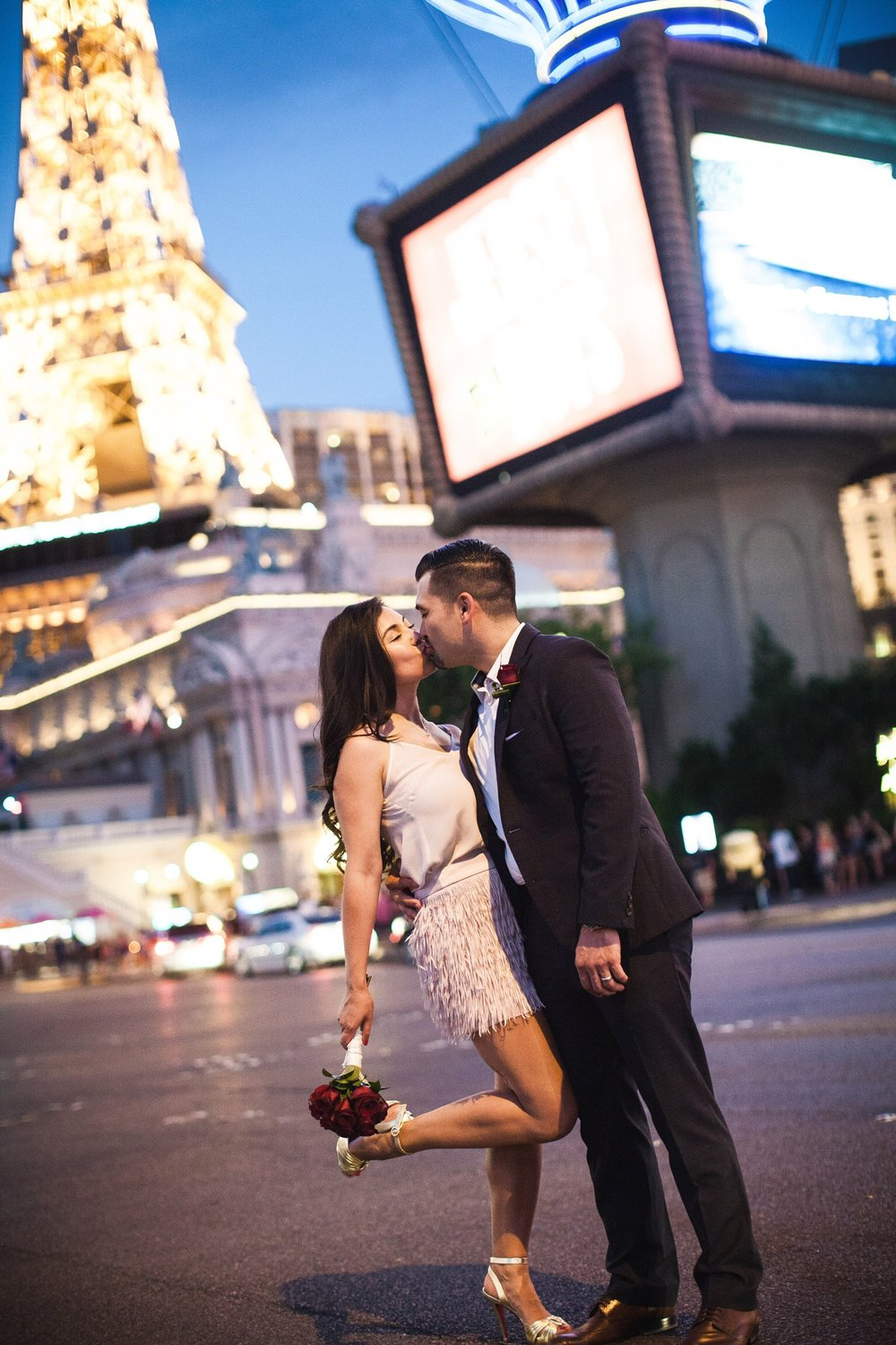 Vegas is for lovers. Why not get married here — or renew your vows like Herminia and Brandon did?