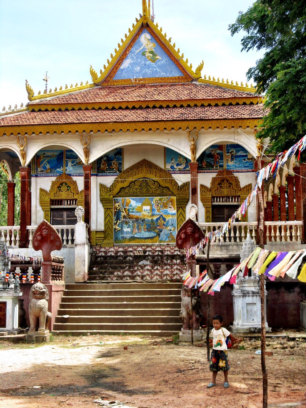 The main temple of Kompong Khleang