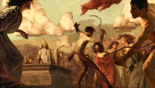 Ancient Romans believed being whipped by blood-soaked animal skins would help you get knocked up