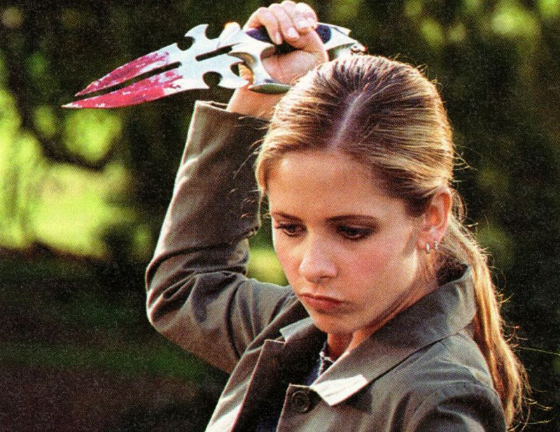 Before  Supernatural , Buffy the Vampire Slayer was fighting all sorts of evil — and doing so while dressed fabulously and making clever quips