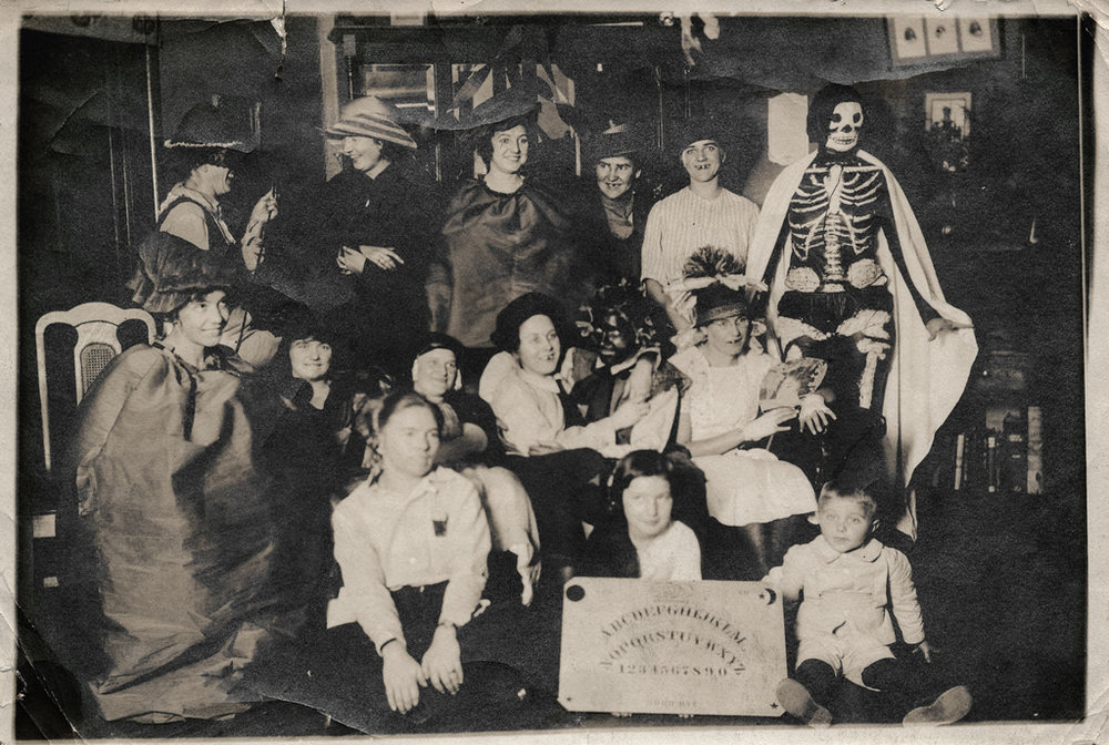 What's a Halloween party without a Ouija board? It's the best time to talk with the dead