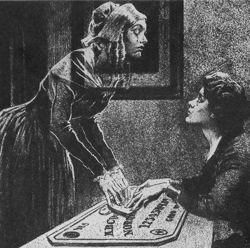 Victorians were kind of obsessed with spiritualism and trying to speak with the dead