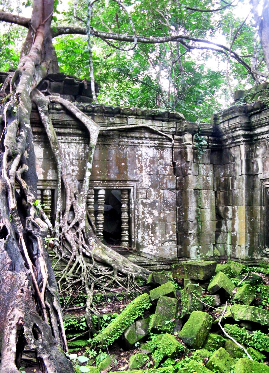 Beng Mealea, the most fun temple to explore in the Angkor area