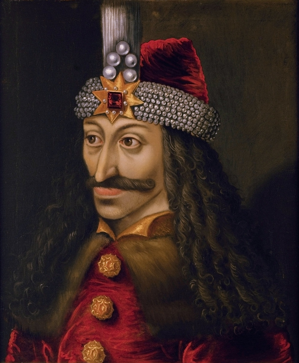 Vlad Tepes, a Romanian prince from the 1400s, became the infamous Dracula