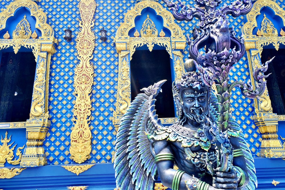 This angel-like being guards the Blue Temple