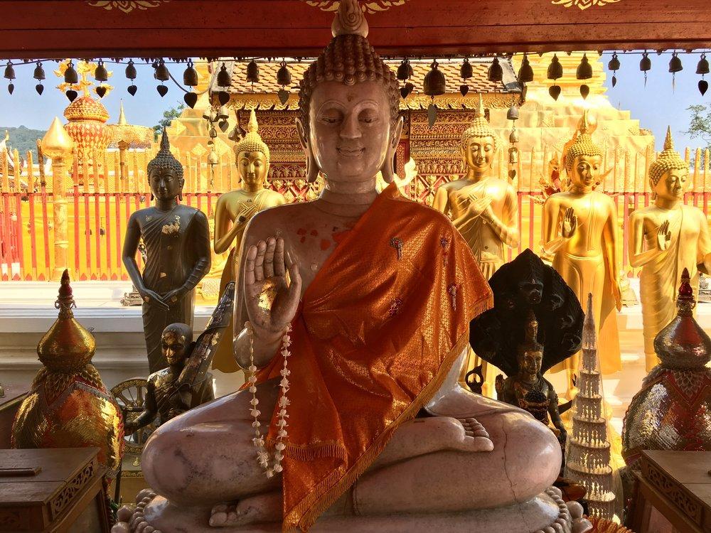 Buddhas galore at Doi Suthep