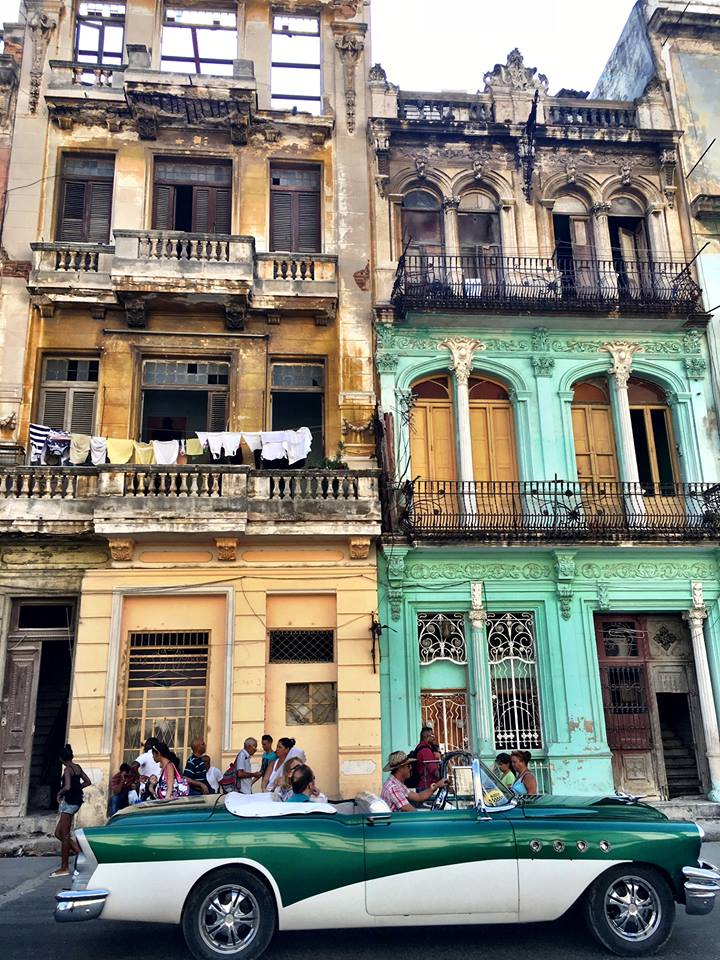 Magestic yet crumbling buildings and classic American cars are the magical formula for Havana, Cuba's appeal
