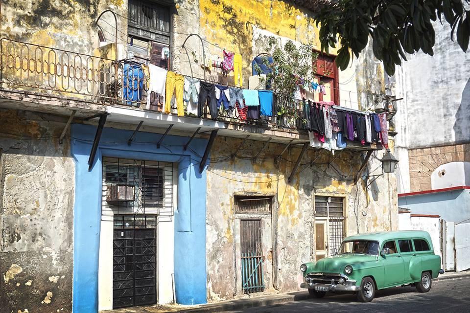 Everything in Cuba is a ghost of its former glory