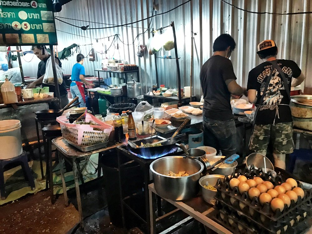 So many people are afraid of street food, but it has often been our favorite meals while traveling