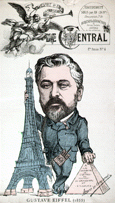 Gustave Eiffel's career had its ups and downs — and he didn't even come up with the design for his namesake tower