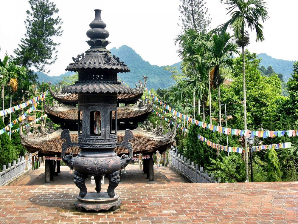 The Perfume Pagoda is a scenic day trip to take from Hanoi, Vietnam
