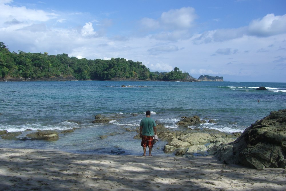 Playa Manuel Antonio is only accessible via the national park but is worth the $3 or $4 entry fee