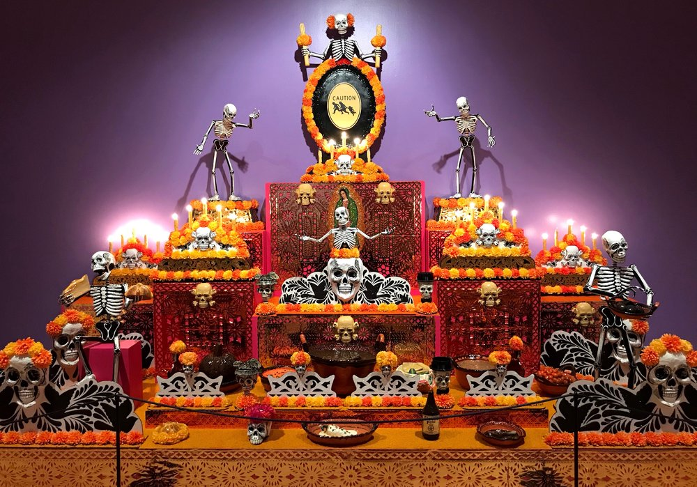 Every year Duke and Wally head to the National Museum of Mexican Art in Chicago to see its Day of the Dead exhibit