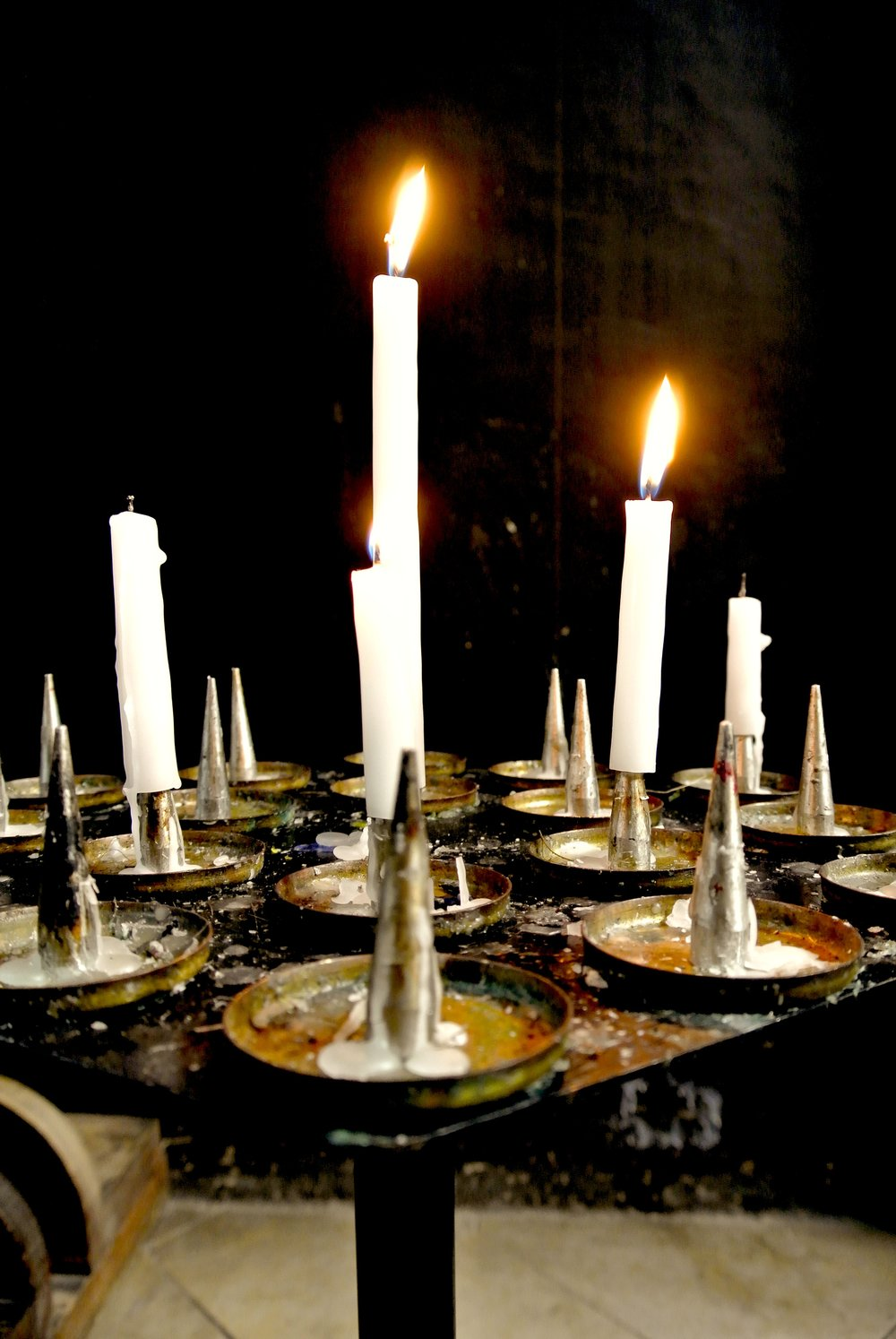 Light a candle and say a prayer, even if you're not religious — it certainly can't hurt, right?
