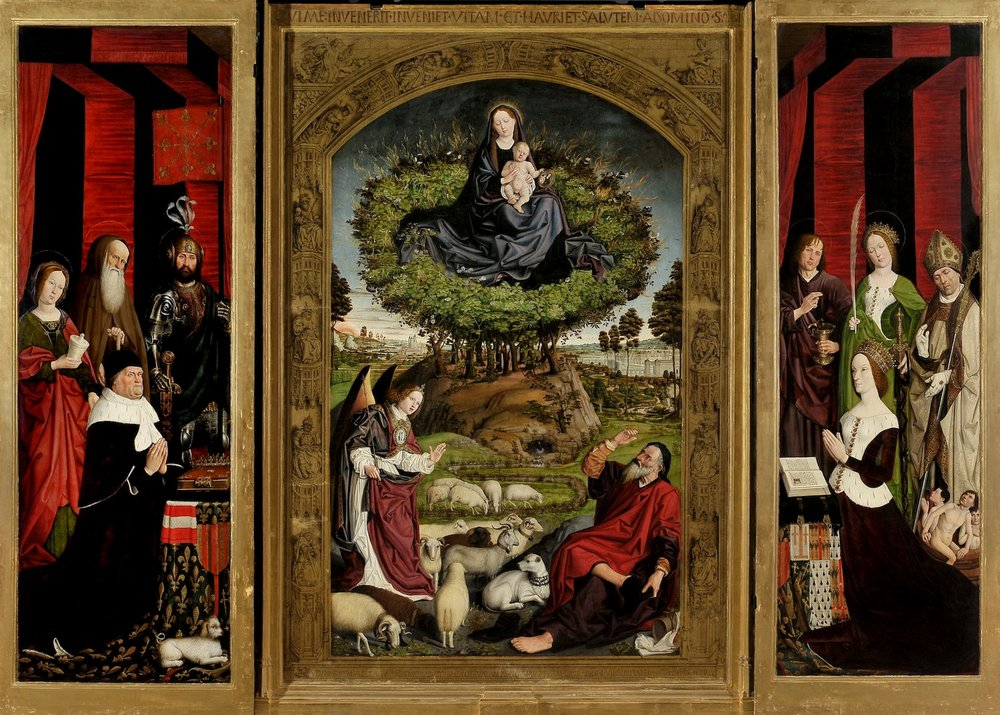 Check to see if the  Triptych of the Burning Bush , by Nicolas Froment, will be on display when you visit