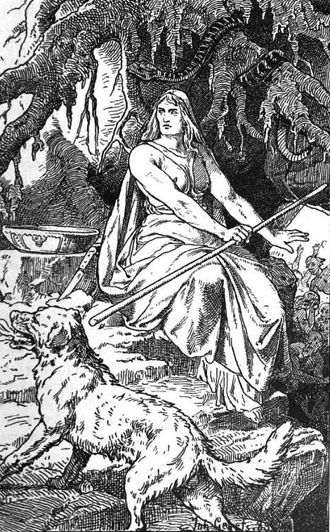 Hel, the goddess of death, is actually Loki's daughter, not his sister