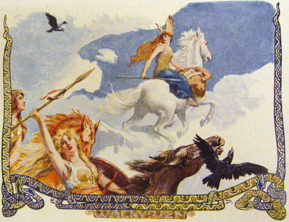 The Valkyries were fierce woman who soared over battlefields on flying horses — until they were relegated to waitresses at Valhalla