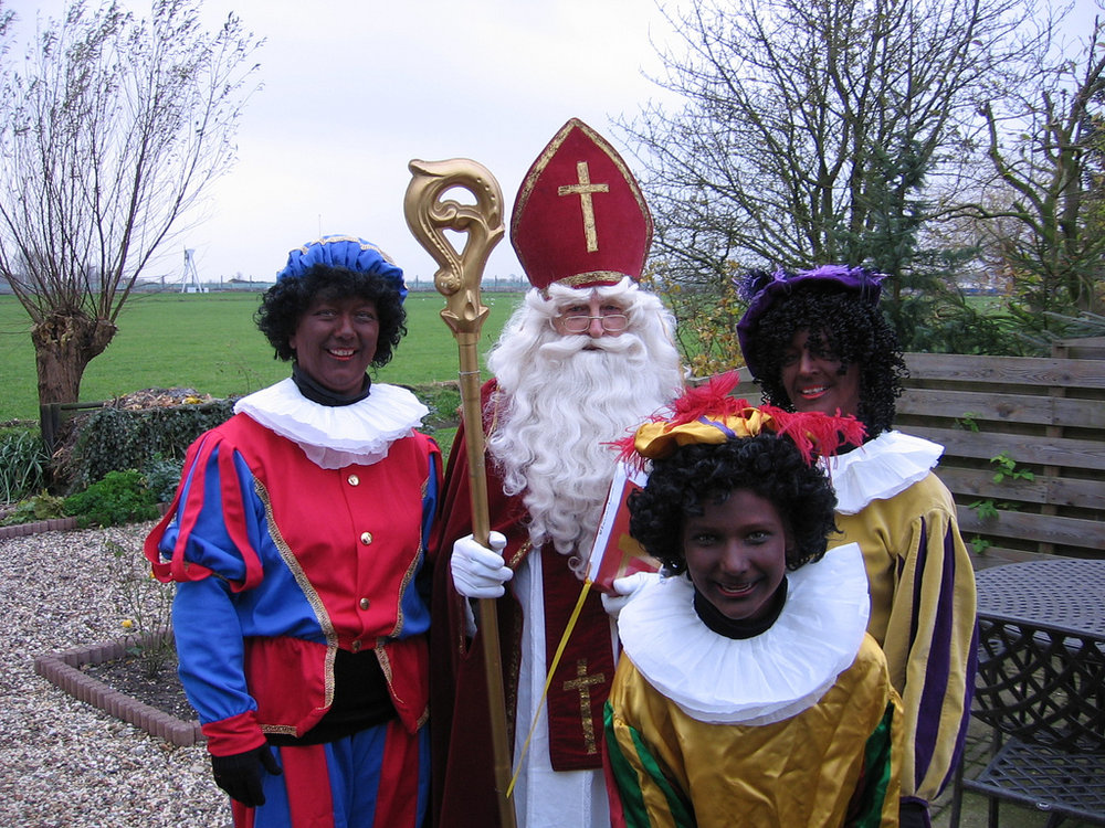 Why are these people in blackface? It's just one of the quirky Dutch Christmas traditions!