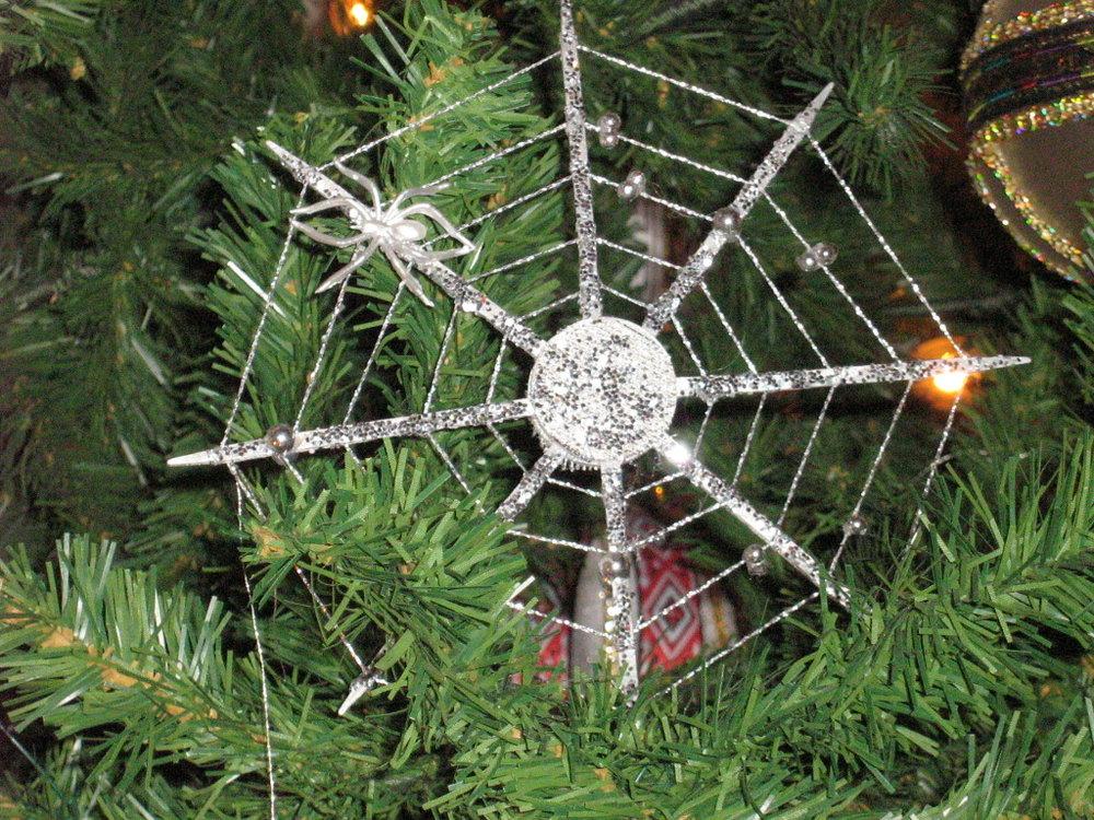 Spiderweb decorations are common in Ukraine and Poland
