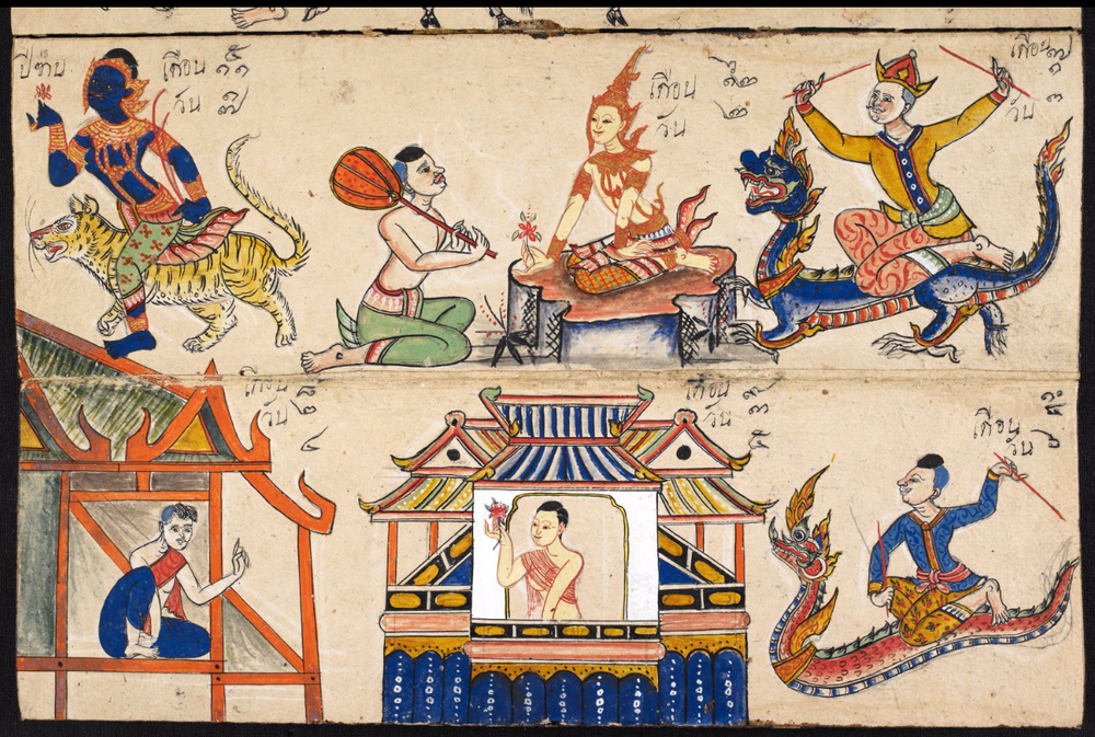 Phrommachat manuscripts determine the compatabilty of Thai couples