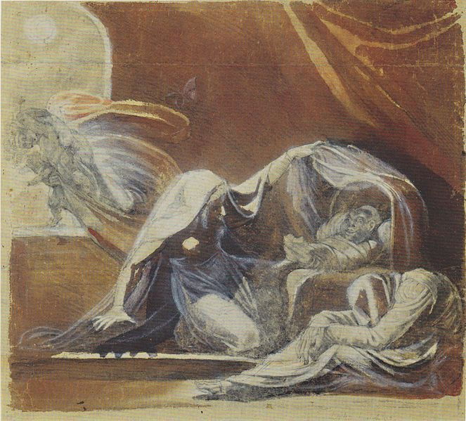 The Changeling by Johann Heinrich Füssli, 1780
