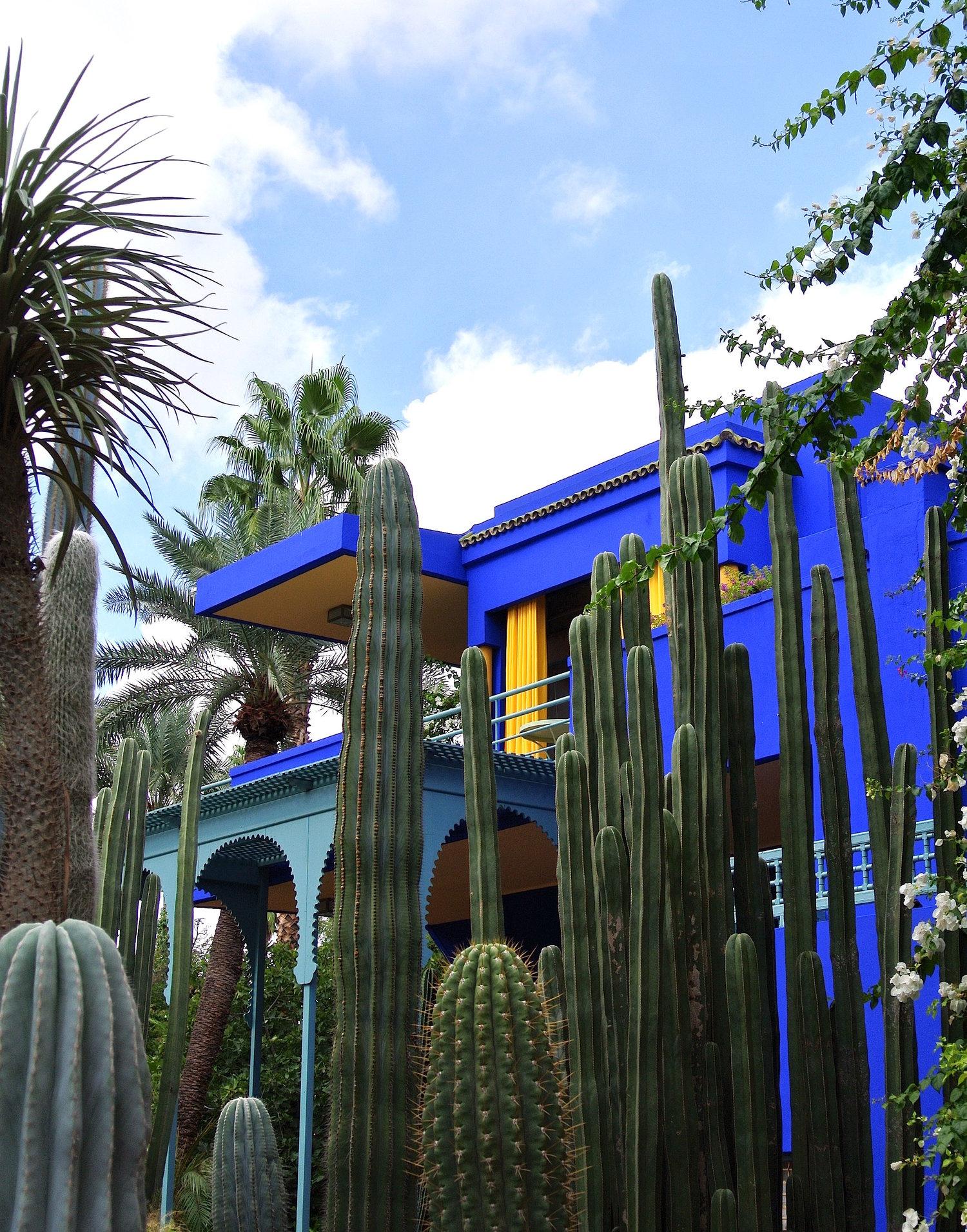 Jardin Majorelle A Moroccan Garden Oasis In Marrakech The Not So