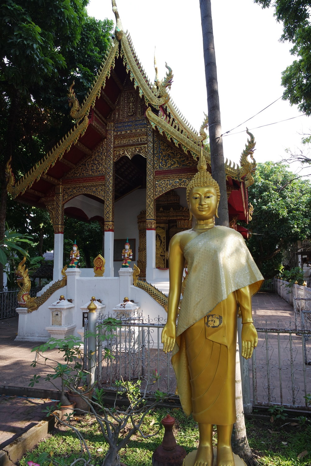 The temple is one of the most popular stops for tourists staying in Chiang Mai