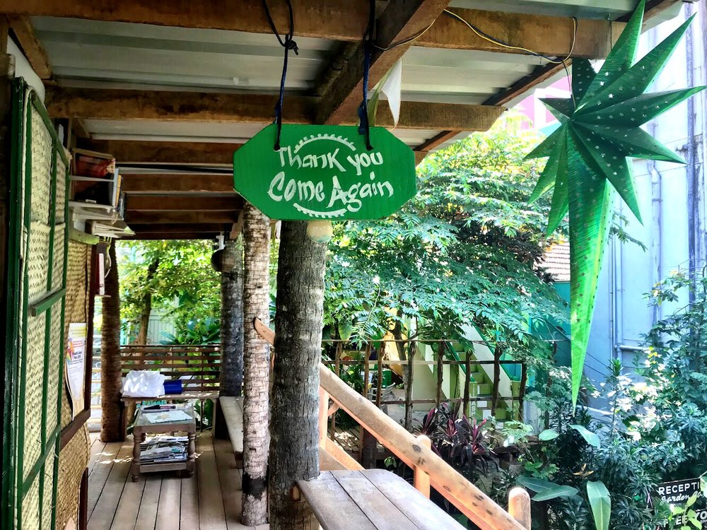 Johny's Beach House is like staying in a treehouse