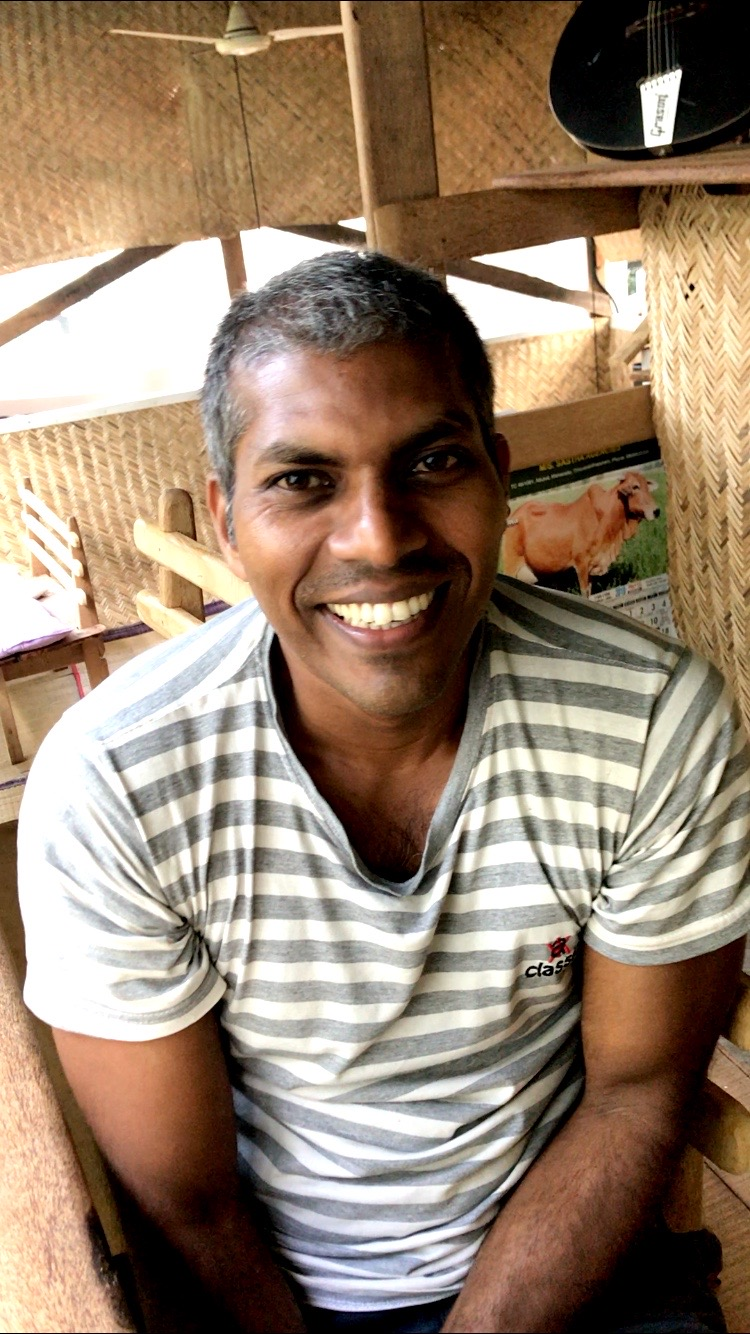 Johny himself — his warm heart is why his B&B is a top-rated place to stay in Kovalam