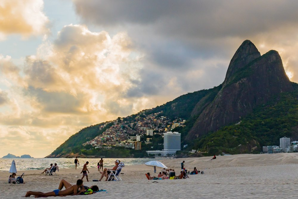 The girl (and boys) from Ipanema Beach in Rio