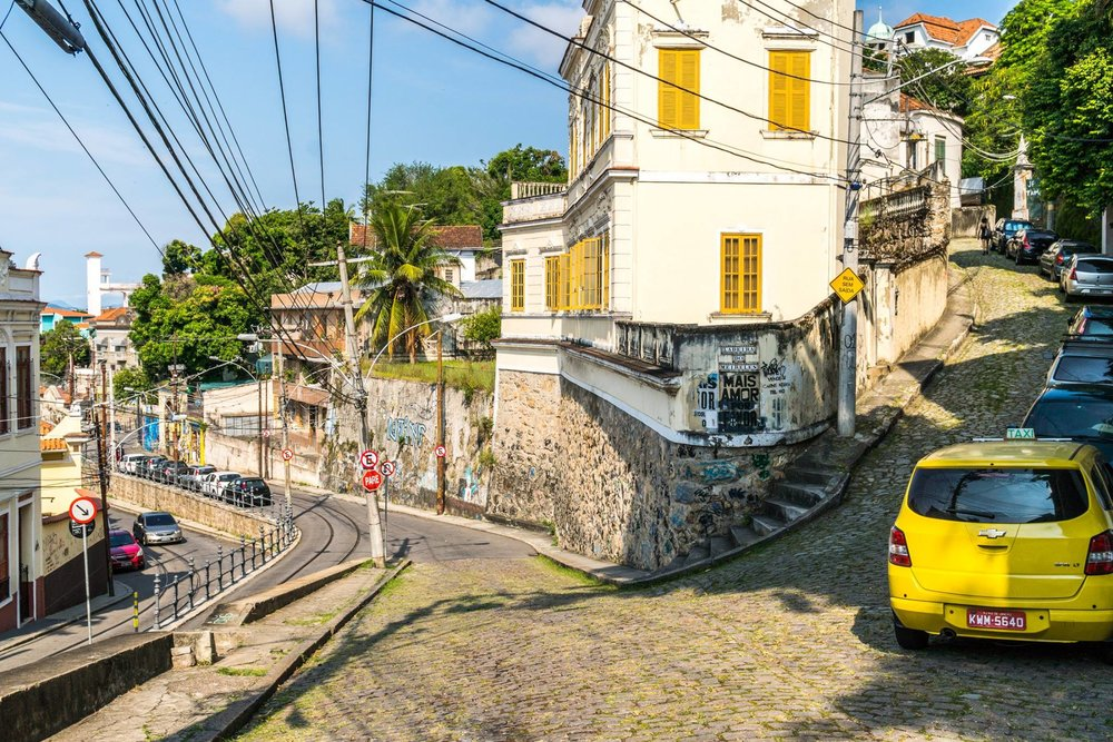 Santa Teresa, an arts district in Rio