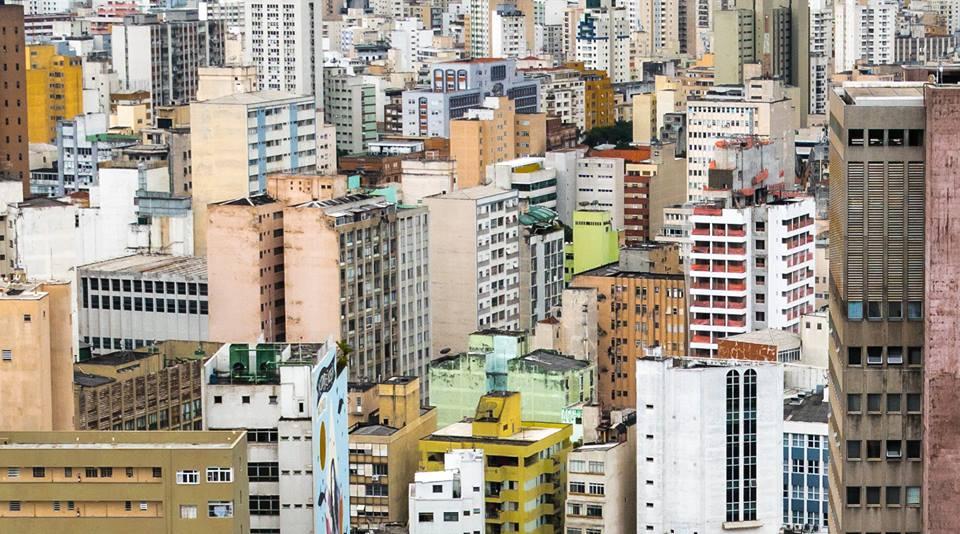 The urban sprawl of São Paulo