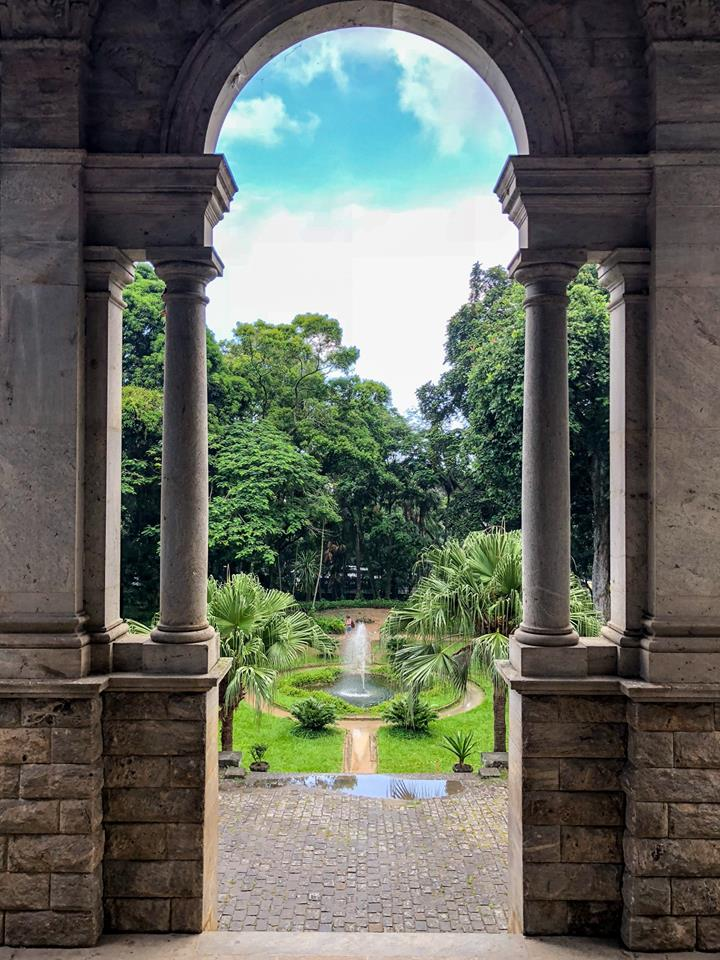 The Parque Lage and School of Visual Arts is a gorgeous locale in Rio