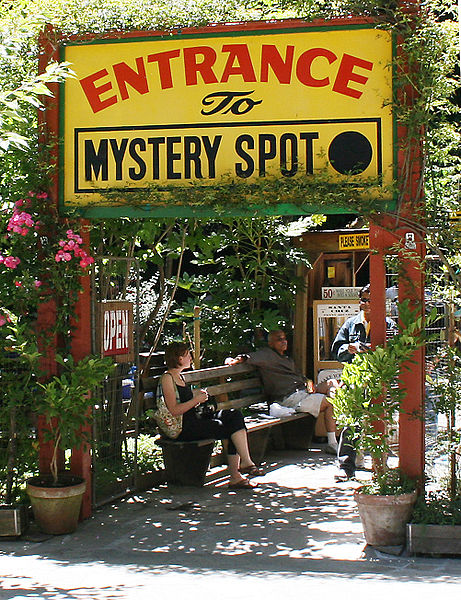 Mystery spots defy the laws of nature